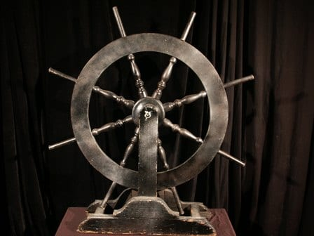 Small Ship's Wheel-0