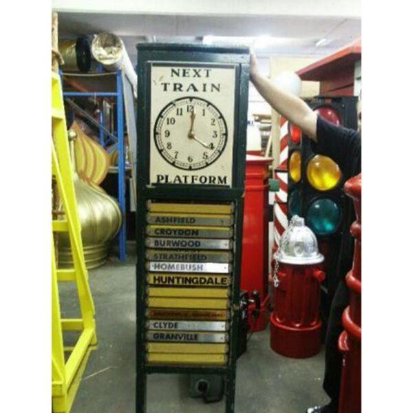 Train Times Board-0