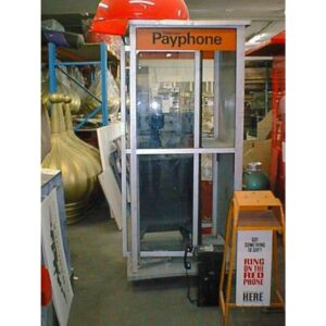 1970's Telephone Booth - Phone Box