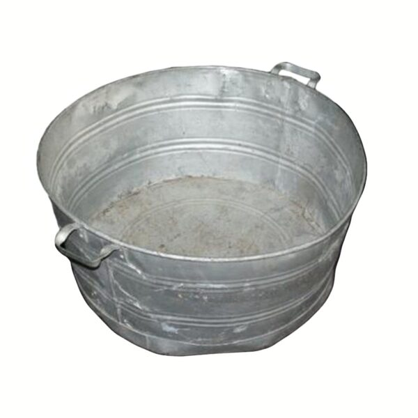 Galvanised Metal Wash Tub-0