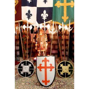 Viking Style Small Shield-0