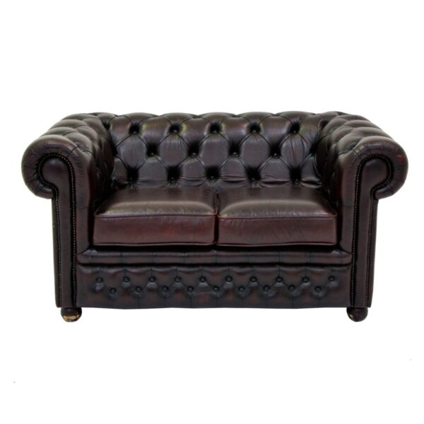 2 Seater Chesterfield Lounge-0
