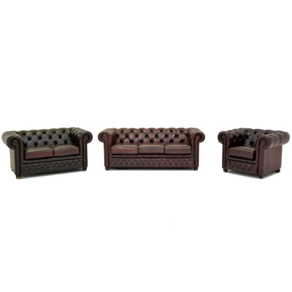 2 Seater Chesterfield Lounge-11160