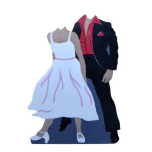 Cutout - Grease Photo Op