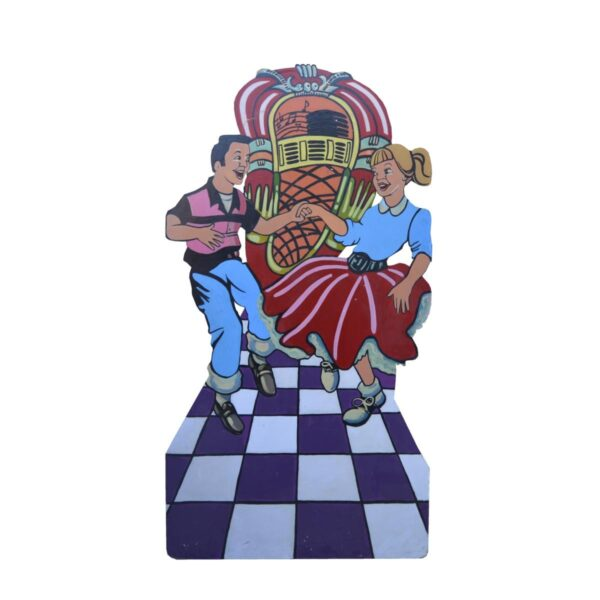 Cutout - Jukebox with Dancers