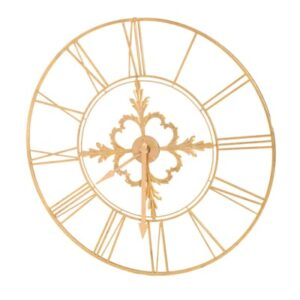 Large Gold Clock Dial Frame-0