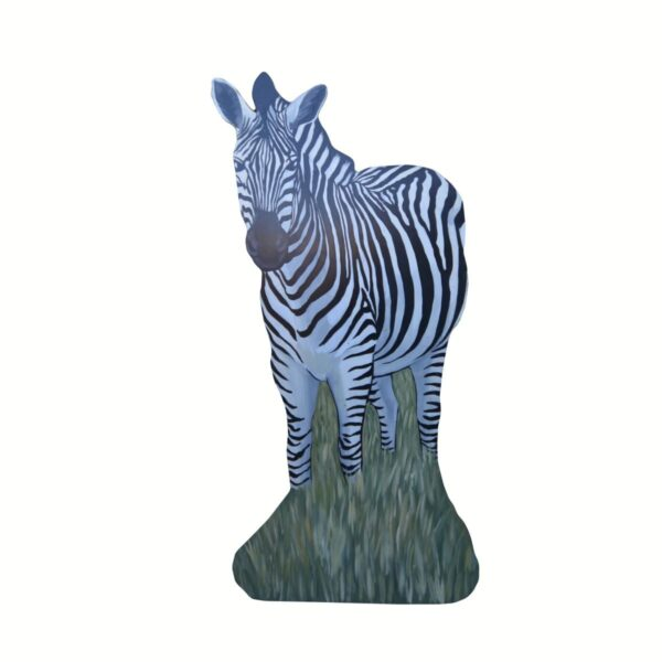 Cutout - Zebra Standing in Grass A
