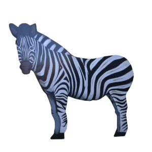 Cutout - Zebra Facing Left