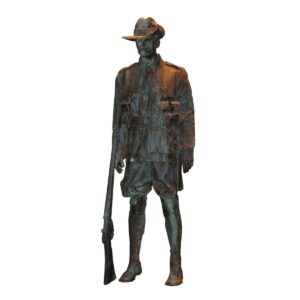 Lifesize Anzac Soldier Statue