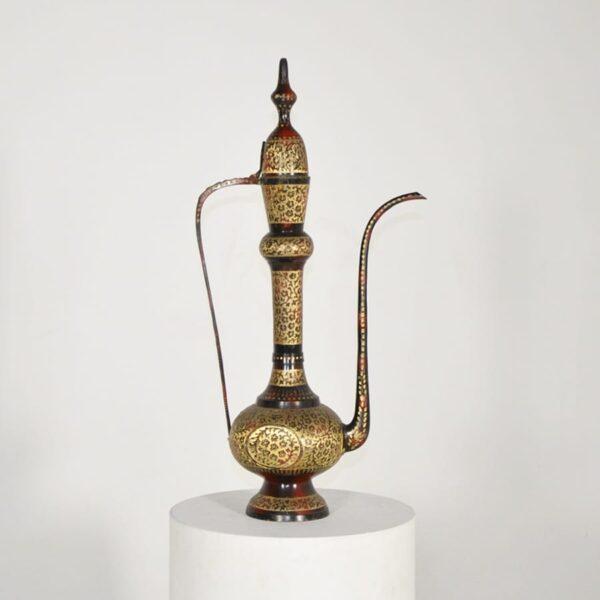 Small Arabian Brass Coffee Pot