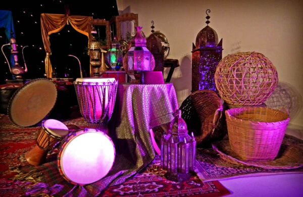 Assorted Moroccan Lamps-10895