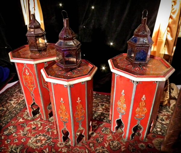 Assorted Moroccan Lamps-10896