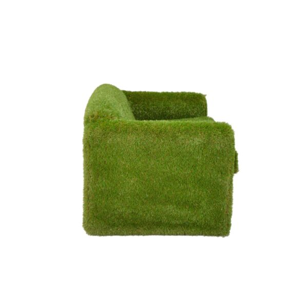 Couch Covered in Artificial Grass - Astro Turf Couch