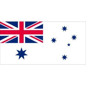 Flag White Australian Naval