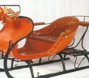 Authentic Santa Sleigh - Sydney Prop Specialists - Prop Hire and Event Theming