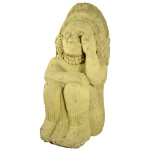 Large Aztec Inca Statue - Sitting for hire - sydney props