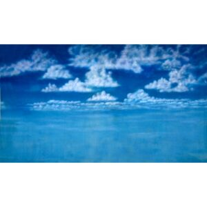 Sky with Clouds Painted Backdrop BD-0010