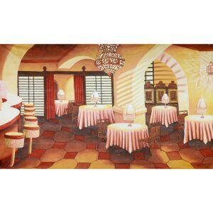 Casablanca Painted Backdrop BD-0220