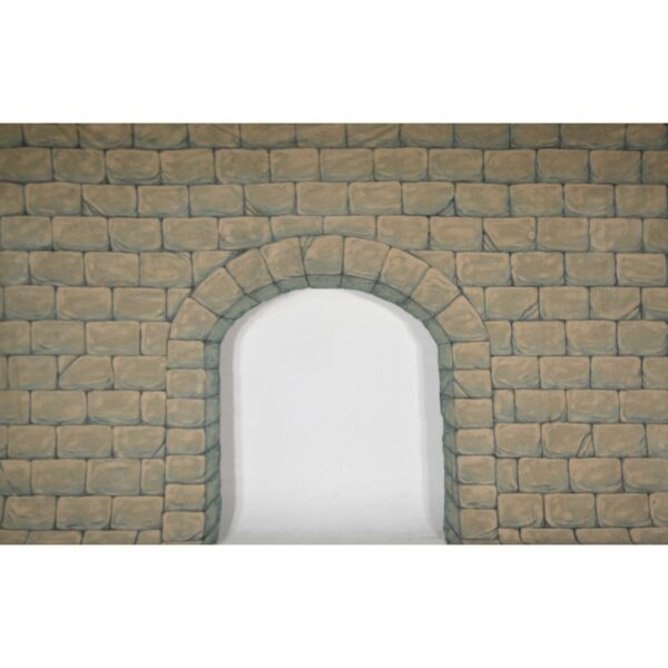 Castle Wall with Archway Painted Backdrop BD-0393