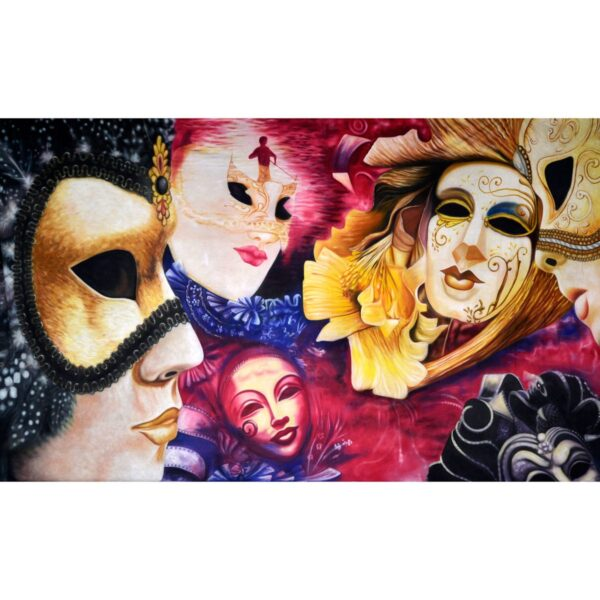 Masquerade Painted Backdrop BD-0652