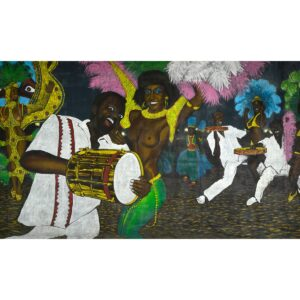Mardi Gras Dance in Rio Painted Backdrop BD-0740