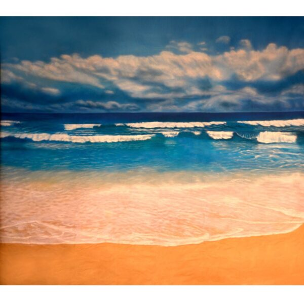 Perfect Beach Painted Backdrop BD-0029