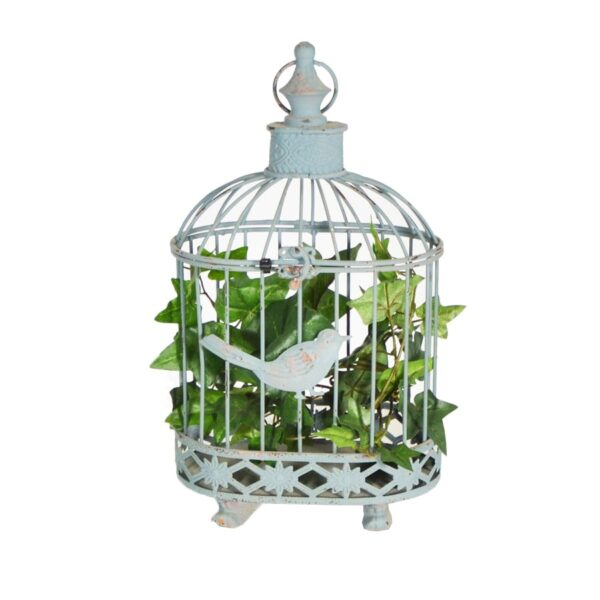 Metal Birdcage, assorted - foliage extra