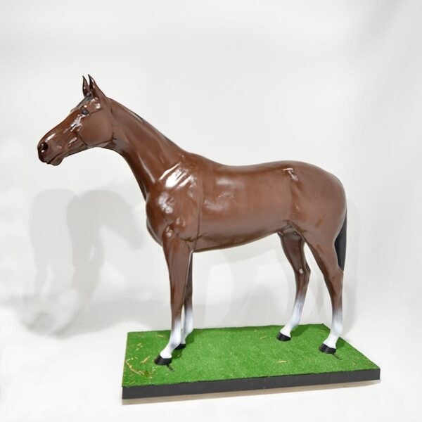 Life Size Brown Horse-0