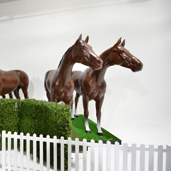 Life Size Brown Horse-18572