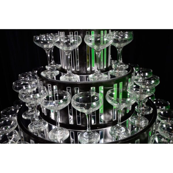 Champagne Glass Tower / Pyramid