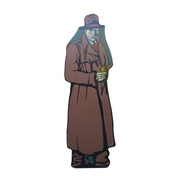 Cutout - Private Eye in Brown Coat
