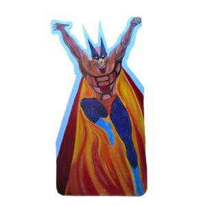 Cutout - Super Hero with Cape