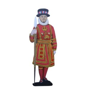 Cutout - Beefeater Left Spear