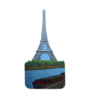 Cutout - Eiffel Tower and the Seine