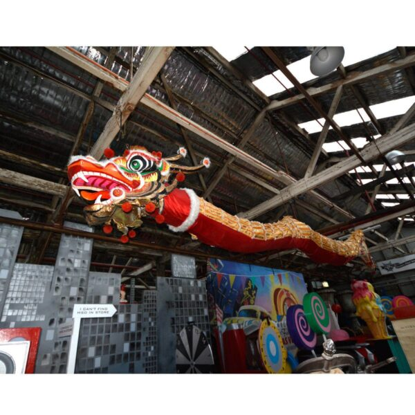 Large Chinese Ceremonial Dragon