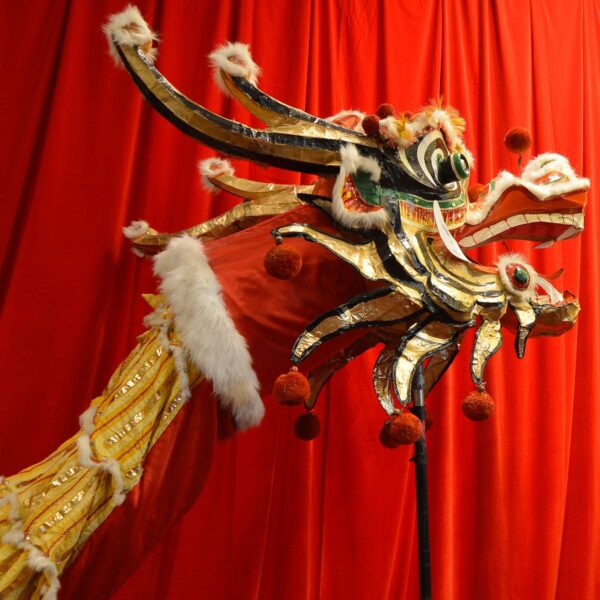 Large Chinese Ceremonial Dragon