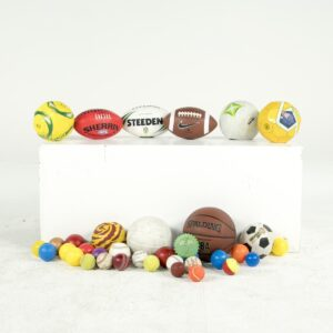 assorted sports balls for hire - sydney props