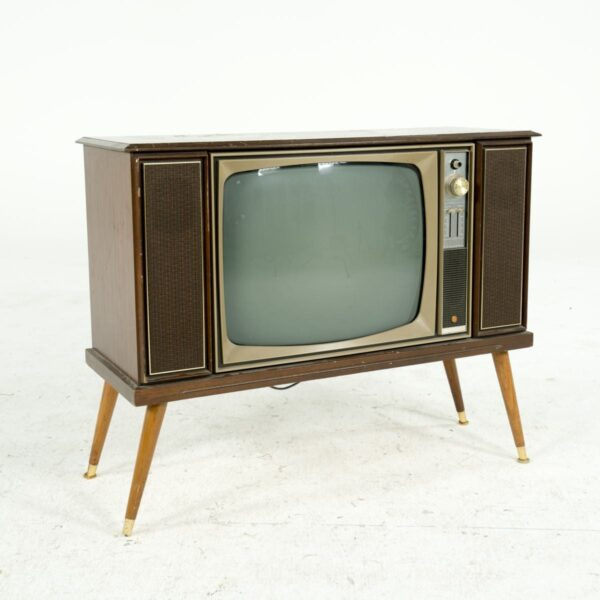 Old Television Unit, extra large for hire - sydney props