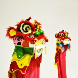 Chinese Ceremonial Dragon Head Costume