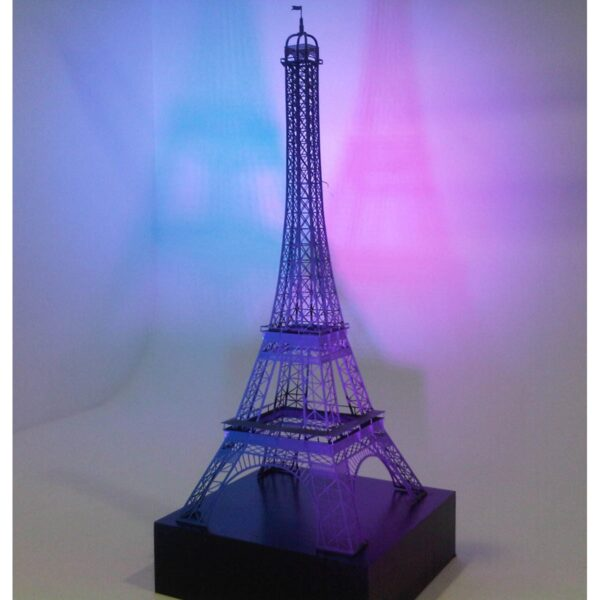 Eiffel Tower Model with Plinth - Sydney Prop Specialists - Prop Hire and Event Theming