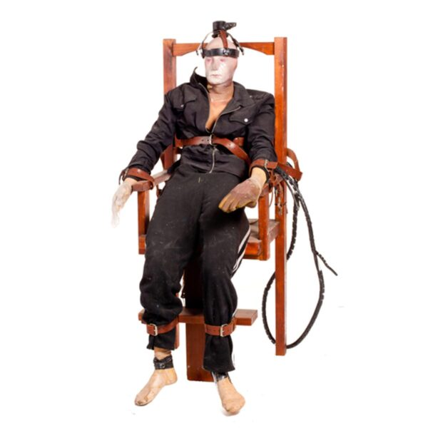 Electric Chair with horror doll