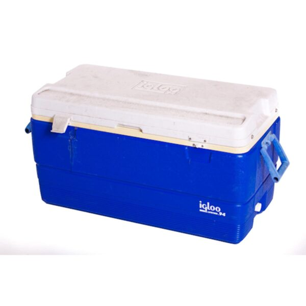 Blue Plastic Esky