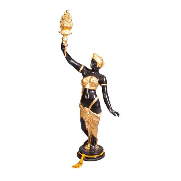 Female Art Nouveau Statue - Sydney Prop Specialists - Prop Hire and Event Theming