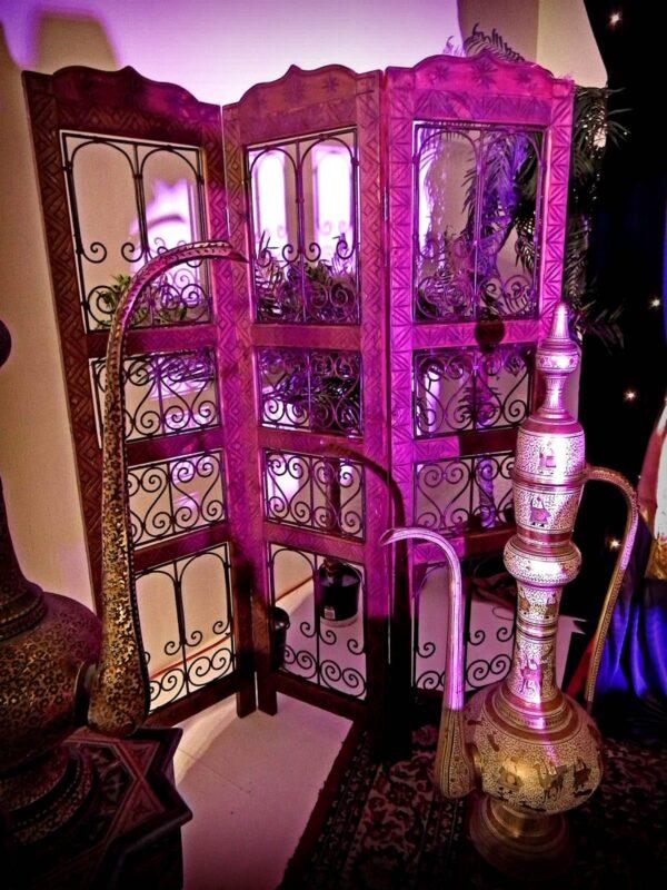 Large Arabian Brass Coffee Pot.