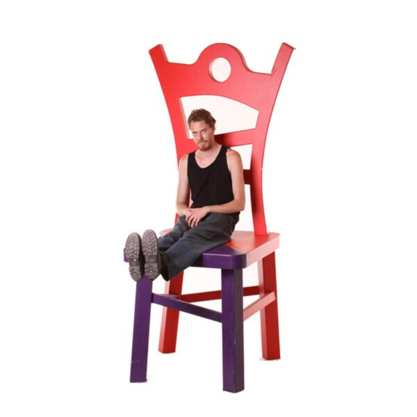 Alice in Wonderland Giant Chair