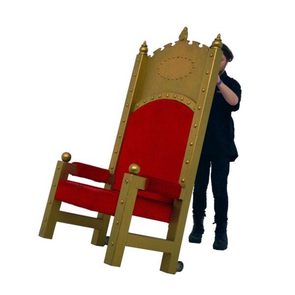 Throne 3 - Giant Santa Throne
