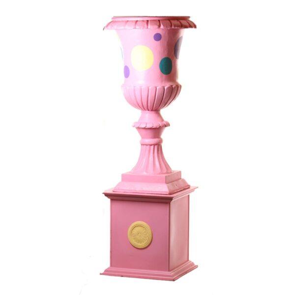 Giant Urn on Pedestal Base