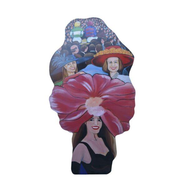 Cutout - Melbourne Cup Ladies Hats