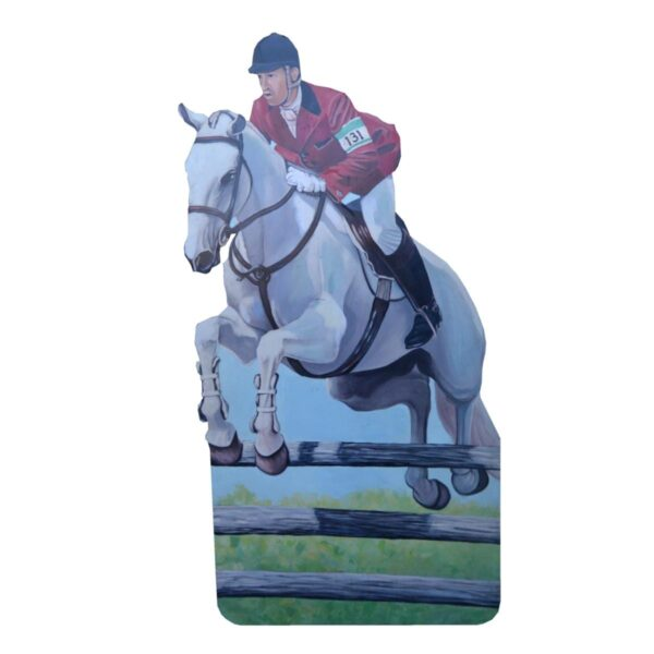 Cutout - Equestrian Horse Show Jumper