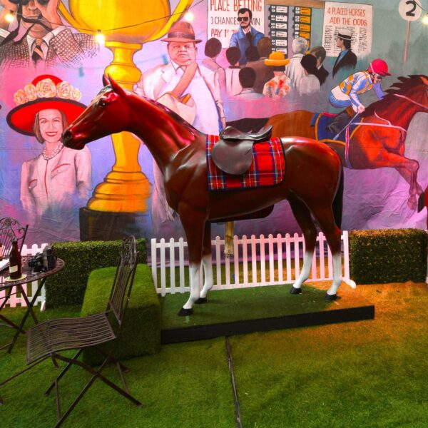 Life Size Horse - Melbourne Cup Theme